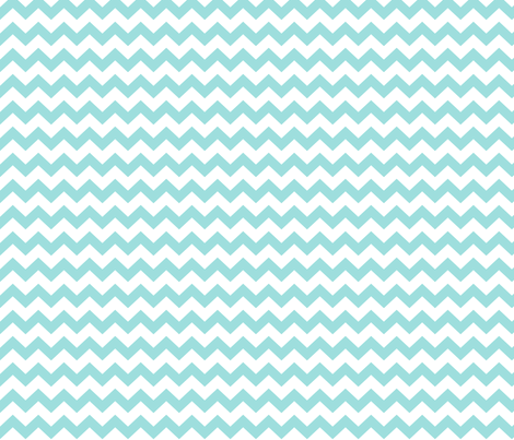 chevron i think i ♥ u light teal