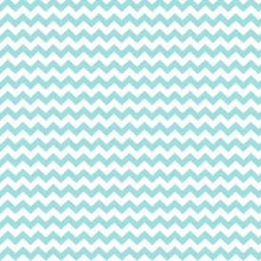 light teal chevron i think i heart u