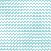 chevron i think i ♥ u teal and white