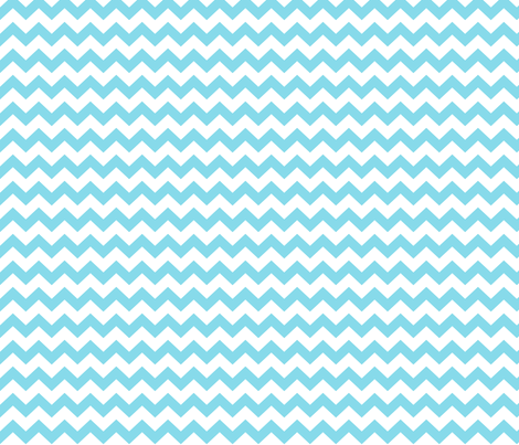chevron i think i ♥ u sky blue