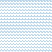 chevron i think i ♥ u powder blue and white