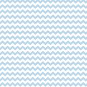 chevron i think i ♥ u powder blue and white