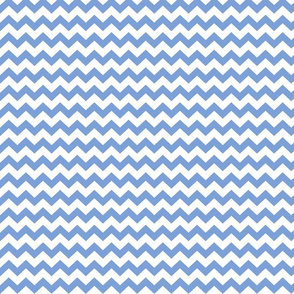 cornflower blue chevron i think i heart u