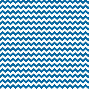 royal blue chevron i think i heart u