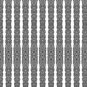 Inkblot Lace Strips II (right edge, mirrored)