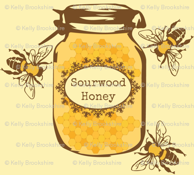 Farmers Market Sourwood Honey