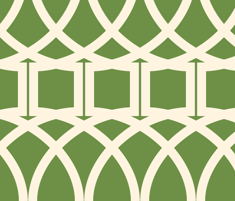 Florida Geometric Large fabric by audsbodkin on Spoonflower - custom fabric