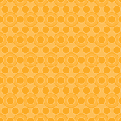 Mod Retro Groovy Orange Dot Paper