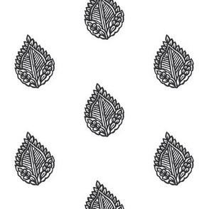 Falling Leaf Coal Dust