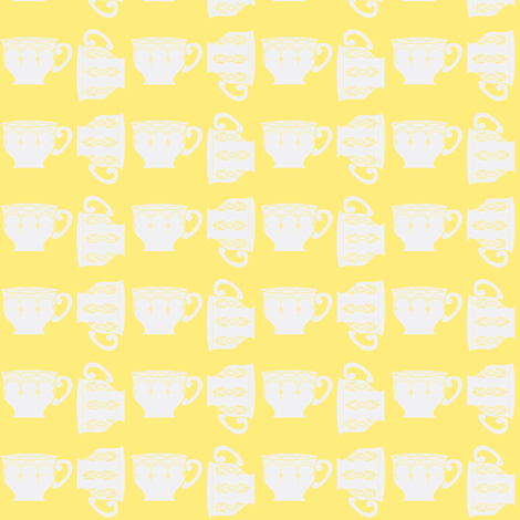 Breakfast tea fabric by fabricfarmer_by_jill_bull on Spoonflower - custom fabric