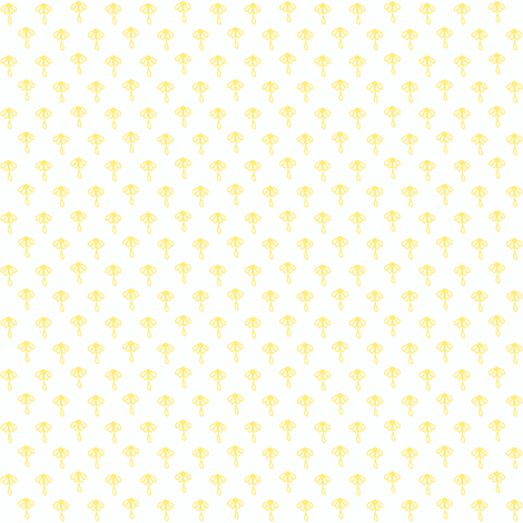 Doily (butter) fabric by palmrowprints on Spoonflower - custom fabric