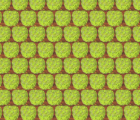 apples fabric by melhales on Spoonflower - custom fabric