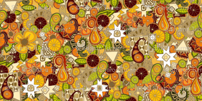 mulled zest paisley