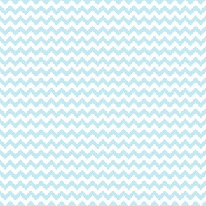 Baby Blue Mini Chevron