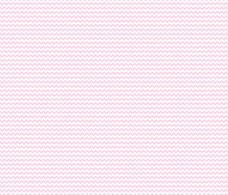 Baby Pink Mini Chevron fabric by prepster on Spoonflower - custom fabric