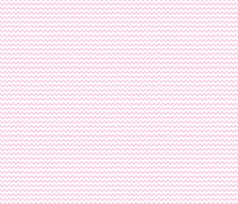 Baby Pink Mini Chevron fabric by prepster on Spoonflower - custom fabric