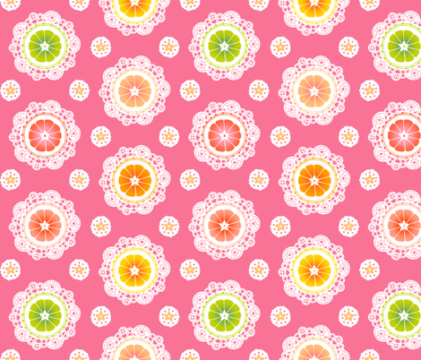 Citrus Lace fabric by aimee on Spoonflower - custom fabric
