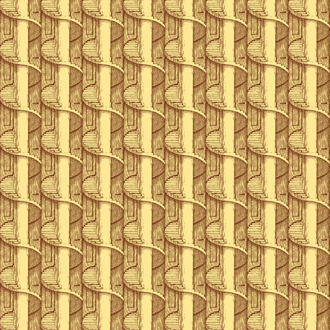 Back Stairs fabric by amyvail on Spoonflower - custom fabric