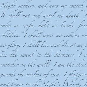Night's Watch Oath
