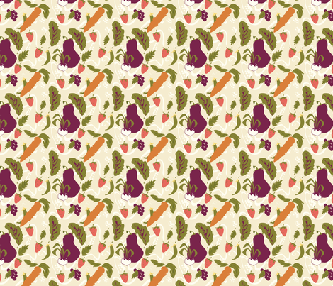 Farmer's Market fabric by doddlebee on Spoonflower - custom fabric