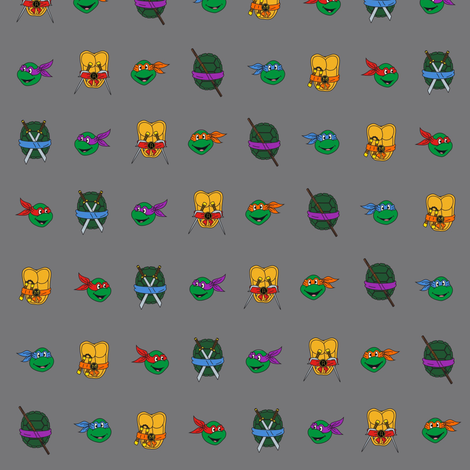 TMNT Stripe fabric by creativefiasco on Spoonflower - custom fabric