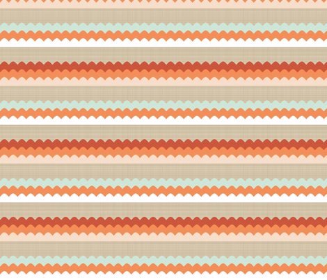 tartanwaves fabric by mrshervi on Spoonflower - custom fabric