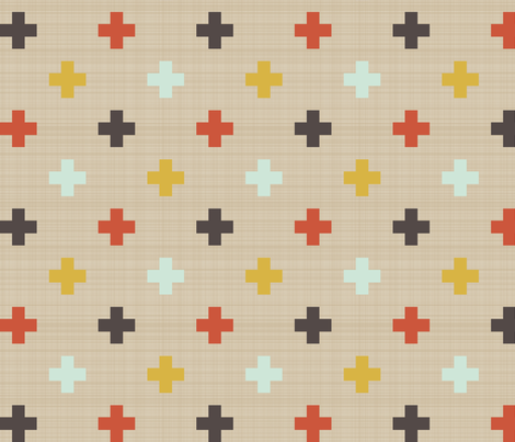 tartan plus fabric by mrshervi on Spoonflower - custom fabric