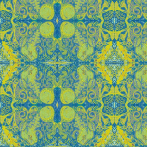 algae tapestry