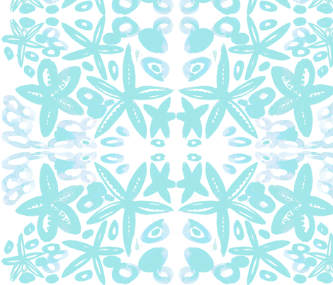 cestlaviv_starfish8 fabric by cest_la_viv on Spoonflower - custom fabric