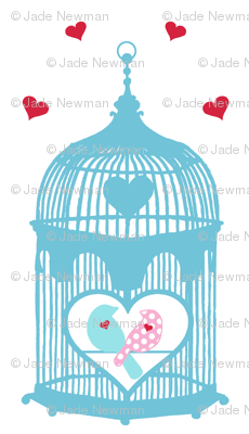 Birdcage Love Birds