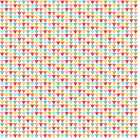 {everyday} multi triangles fabric by misstiina on Spoonflower - custom fabric