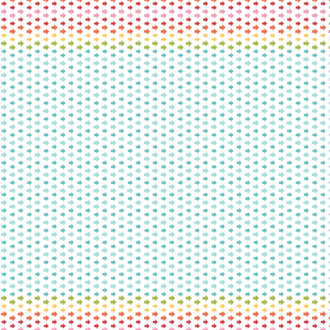 {everyday} rainbow arrows fabric by misstiina on Spoonflower - custom fabric