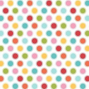 {everyday} big multi dots