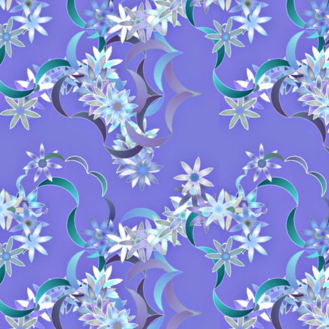 Floral-31-31a fabric by patsijean on Spoonflower - custom fabric