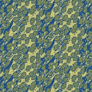 Fizz - blue, yellow, green