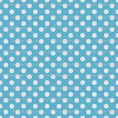 Summer Sky Polka Dot