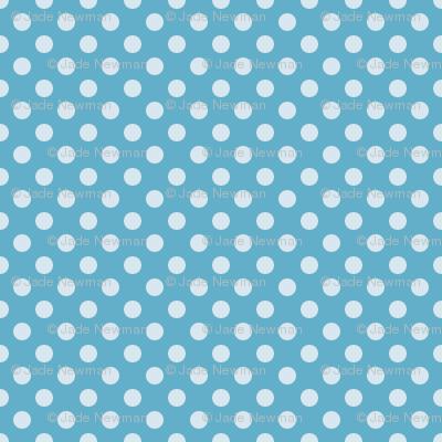 Summer Sky Polka Dot