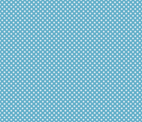 Summer Sky Polka Dot fabric by lovelyjubbly on Spoonflower - custom fabric