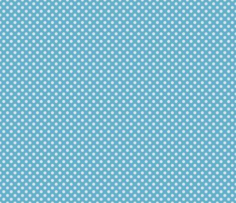 Summer Sky Polka Dot fabric by lovelyjubbly on Spoonflower - custom fabric
