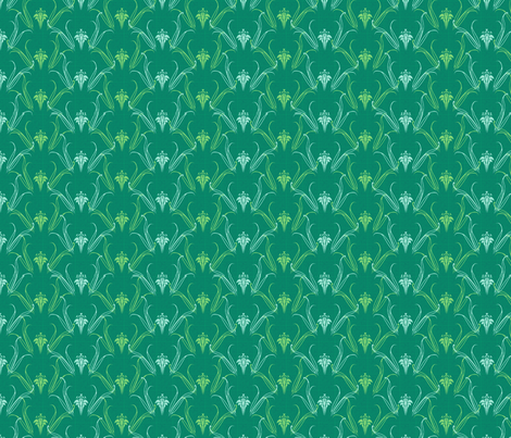 LILLIEs serenity synergy0004 fabric by glimmericks on Spoonflower - custom fabric