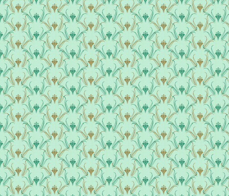 LILLIEs serenity synergy0004 a fabric by glimmericks on Spoonflower - custom fabric