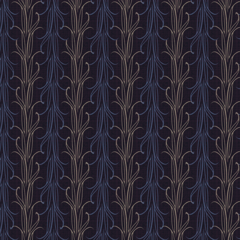 lily leaf deep twilight synergy0010 fabric by glimmericks on Spoonflower - custom fabric
