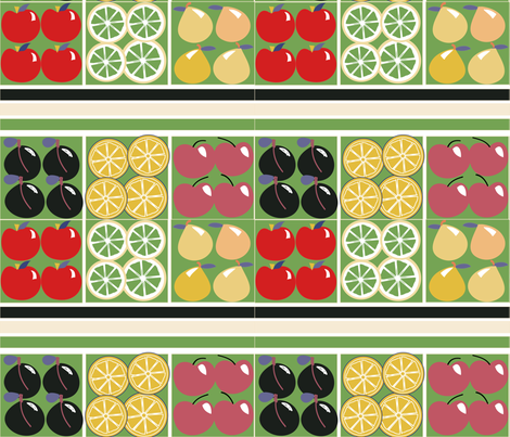 SOOBLOO__FRUITS_more-1-01 fabric by soobloo on Spoonflower - custom fabric
