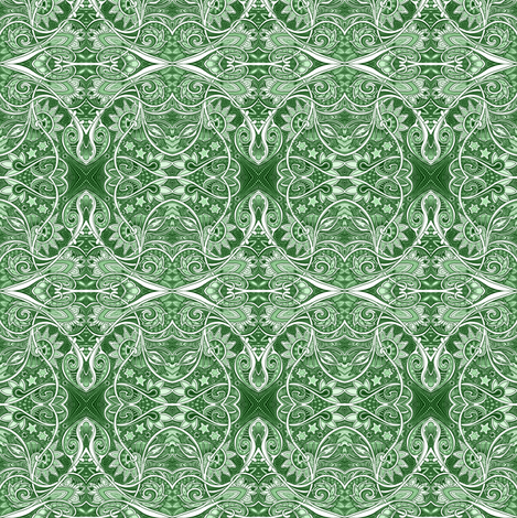 How Green Were My Victorians? fabric by edsel2084 on Spoonflower - custom fabric