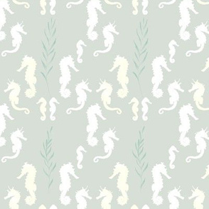 seahorse_white by youdesignme