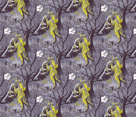 Midsummer Night 2 fabric by vinpauld on Spoonflower - custom fabric