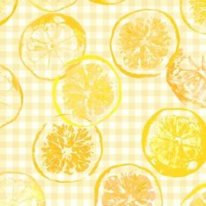 sunshine lemons and oranges