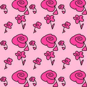 Mini Doodle Flowers
