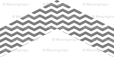 meta-metachevron (black and white)