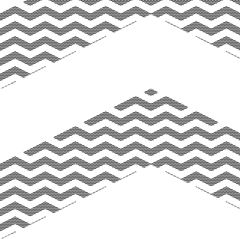 meta-metachevron (black and white) fabric by weavingmajor on Spoonflower - custom fabric